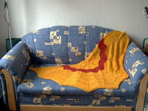 Revontuli auf meinem Sofa