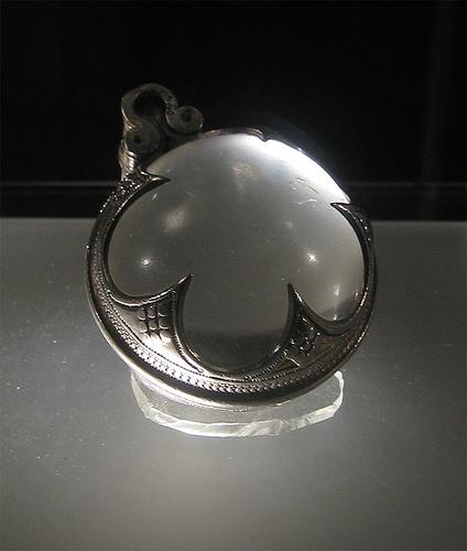 Wikingerzeitliches Kristallamulett