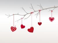 Valentinstag - Herzen