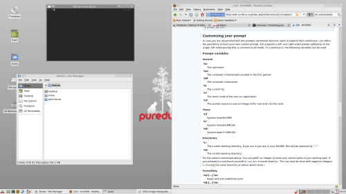 Puredyne-Screenshot