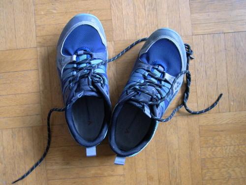 Meine Vivo Barefoot Schuhe von oben